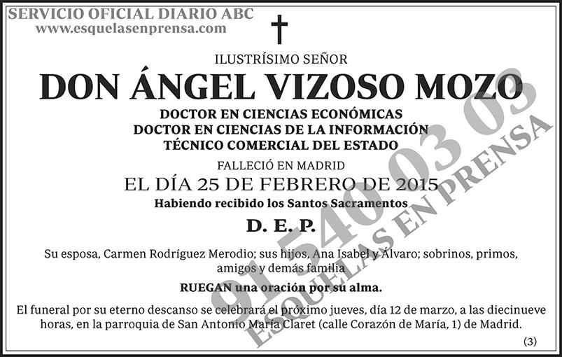 Ángel Vizoso Mozo